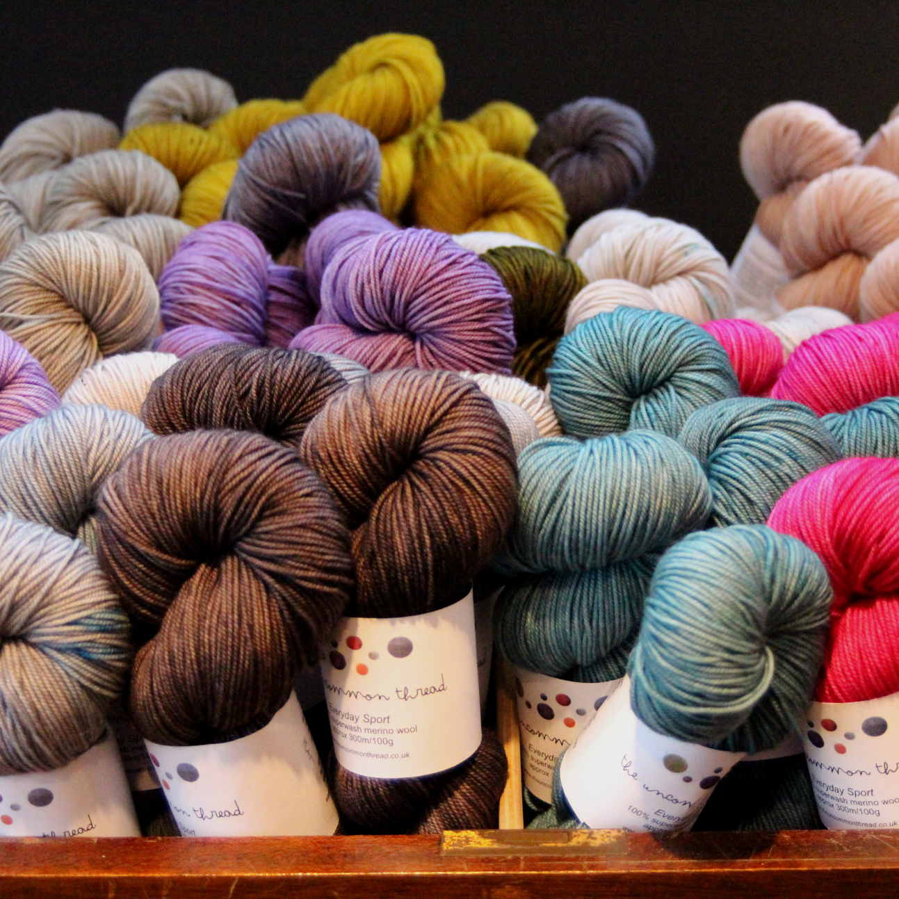 Every day Sport, Merino, Superwash, Hand dyed yarn