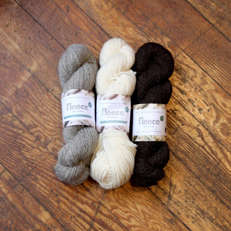 West Yorkshire Spinners, Jacob, DK, British, Undyed