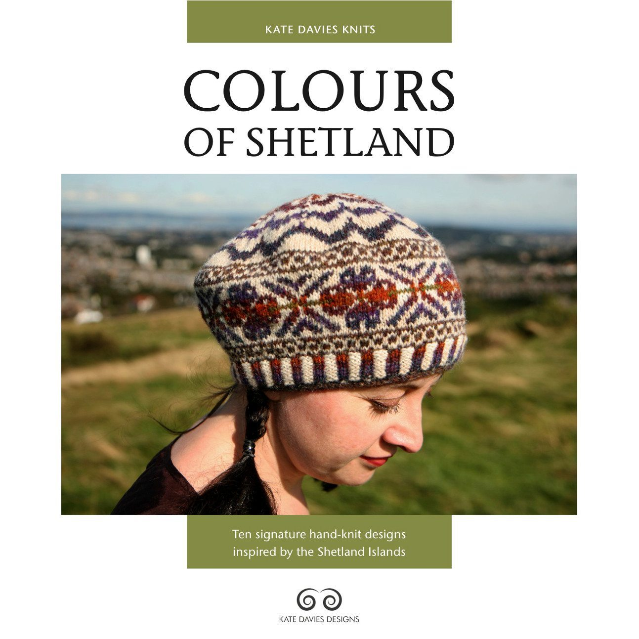 Colours of Shetland, Kate Davies, Cover