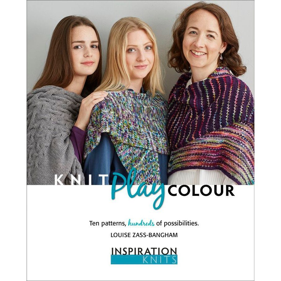 Louise Zass-Bangham, Knit Play Colour, Inspiration Knits, Shawls, Scarves, Cowls