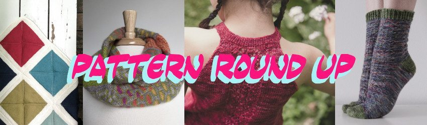 Pattern Round Up, July 2016, Summer