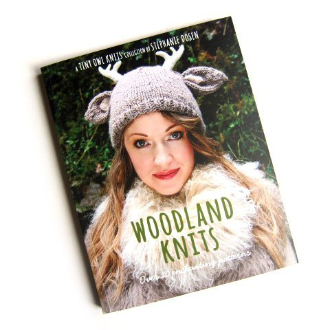 Stephanie Dosen, Tiny Owl Knits, Woodland Knits, Patterns, Book
