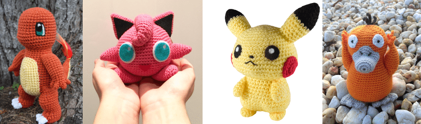 Crochet, Pokemon Go, Eevee
