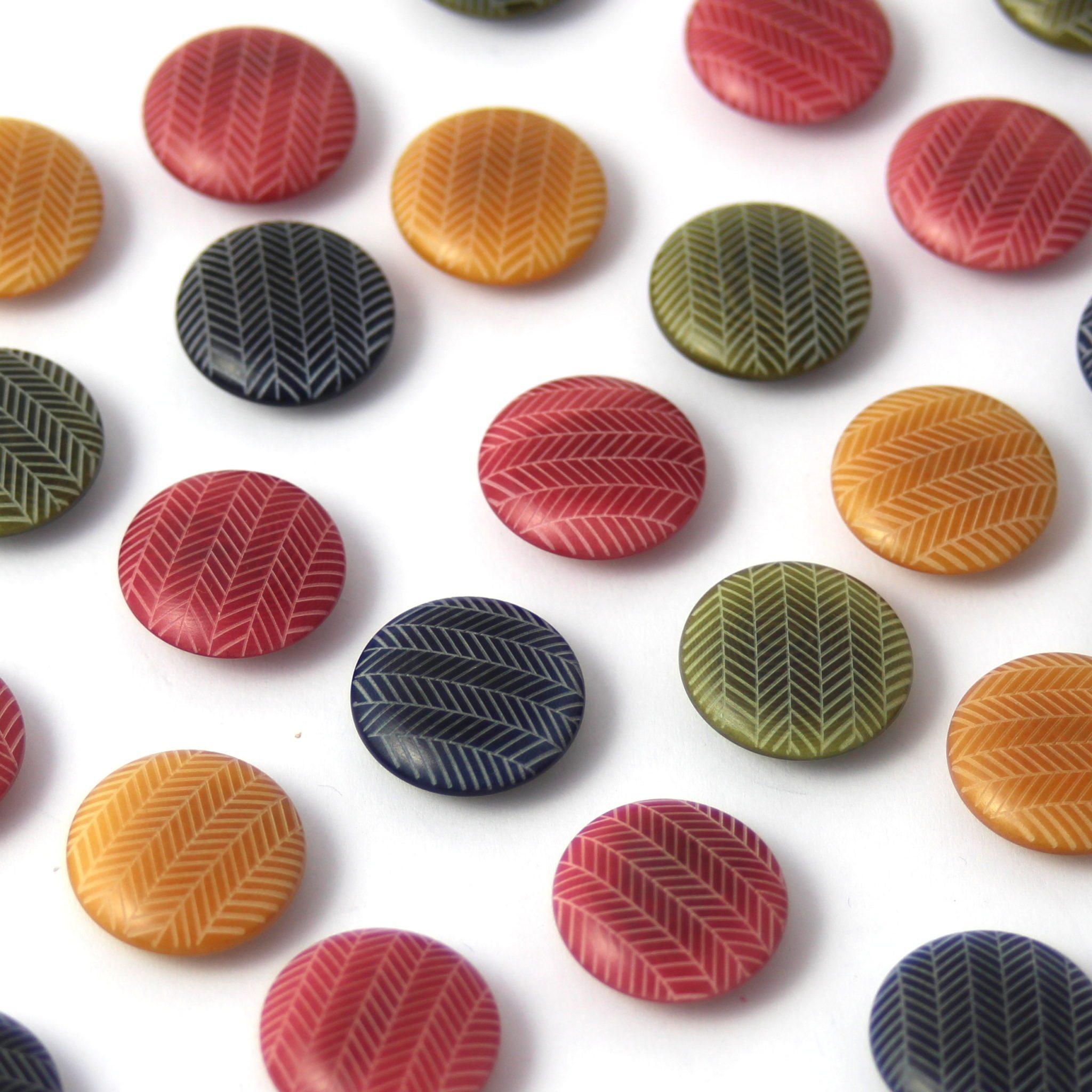 Buttons, Textile Garden