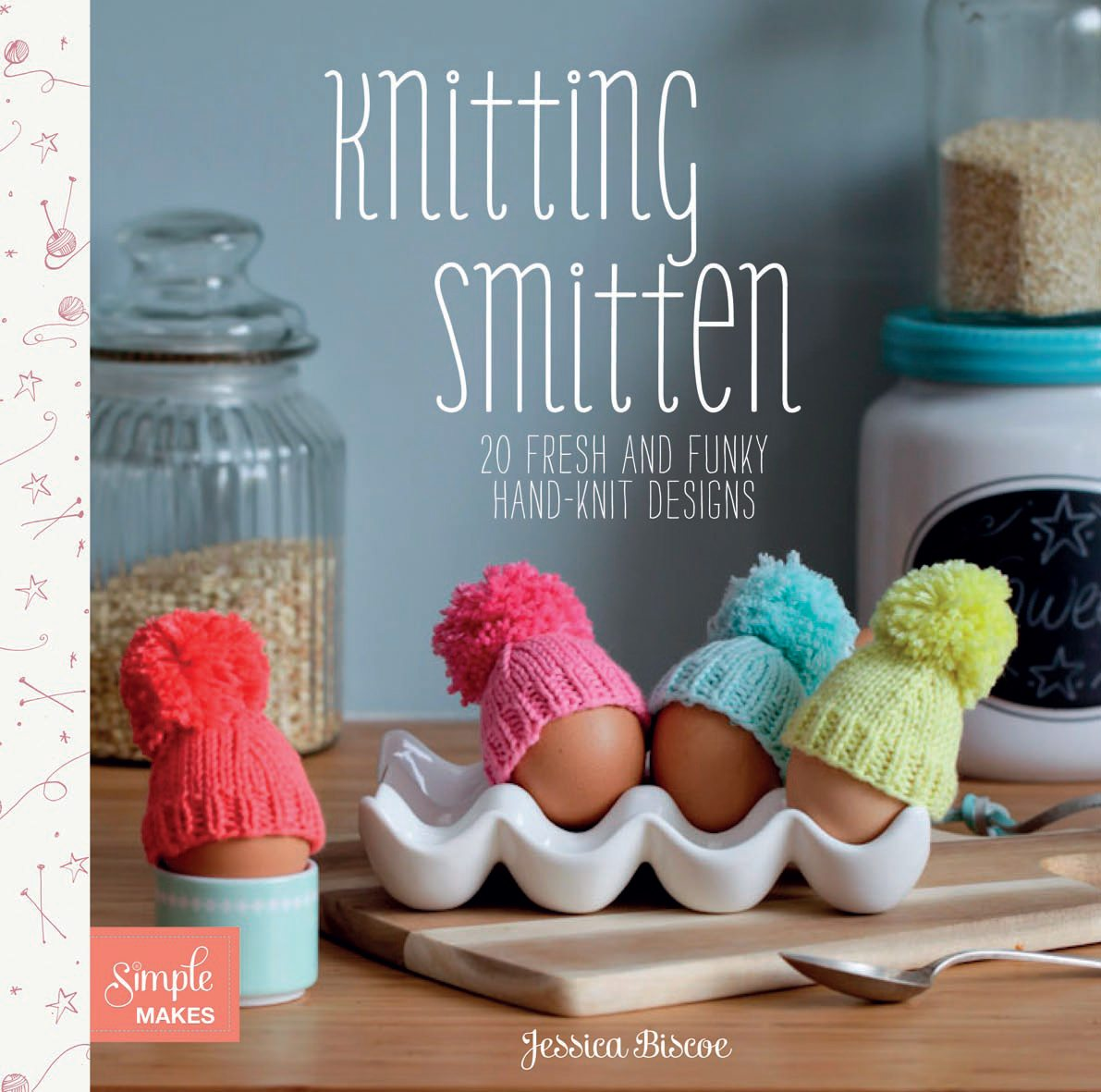 Jessica Biscoe, Knitting Smitten, Pattern, Book, Accessories, Jewellery Homewear