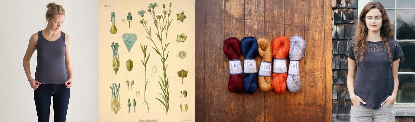 All things linen, Kalinka, Karin Oberg, 4ply, fingering, linen, summer knitting