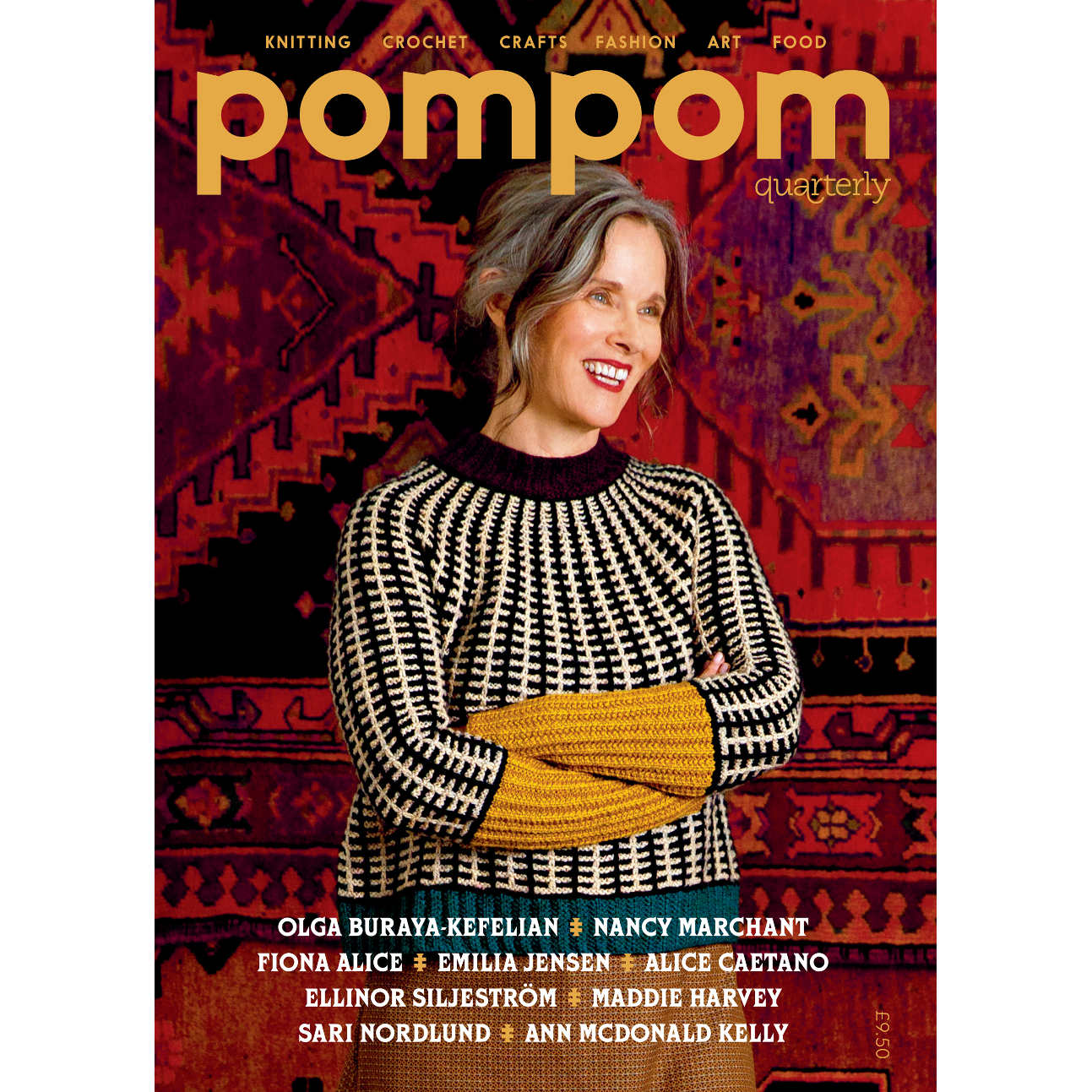 Pom Pom Quarterly, Issue 22, Autumn 2017, Pattern, Knitting, Magazine,