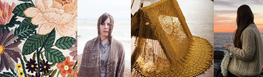 Imogen Di Sapia, Hazel Tindall, Tessa Perlow, Brooklyn Tweed, Summer of Lace, KAL, Around the Web