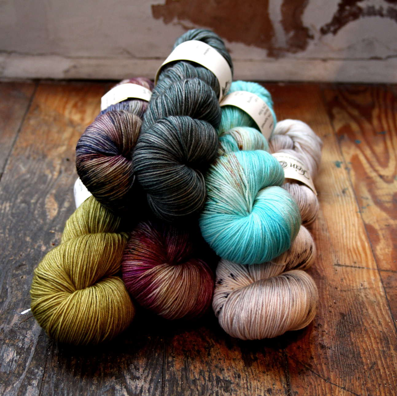 Skein Queen, Crush, 4ply, Merino / Nylon, Sock Yarn, Indie Dyer, Hand Dyed Yarn, Wool,