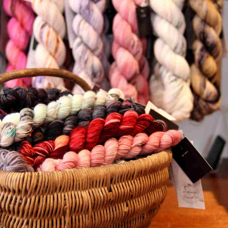 Mini Lite, Olann, Sock Mini, Hand Dyed, Merino, Nylon