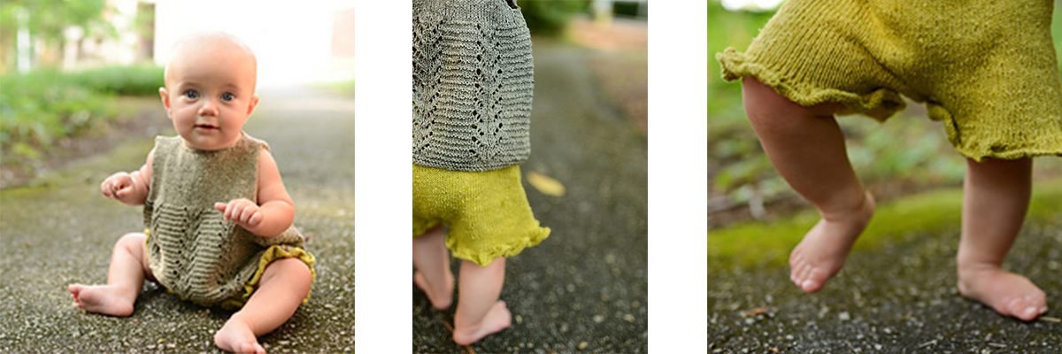 Nicole Vest and Ruffle Shorties Baby Set by Kate Oats
