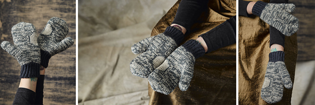Sina Mittens from Pom Pom Quarterly