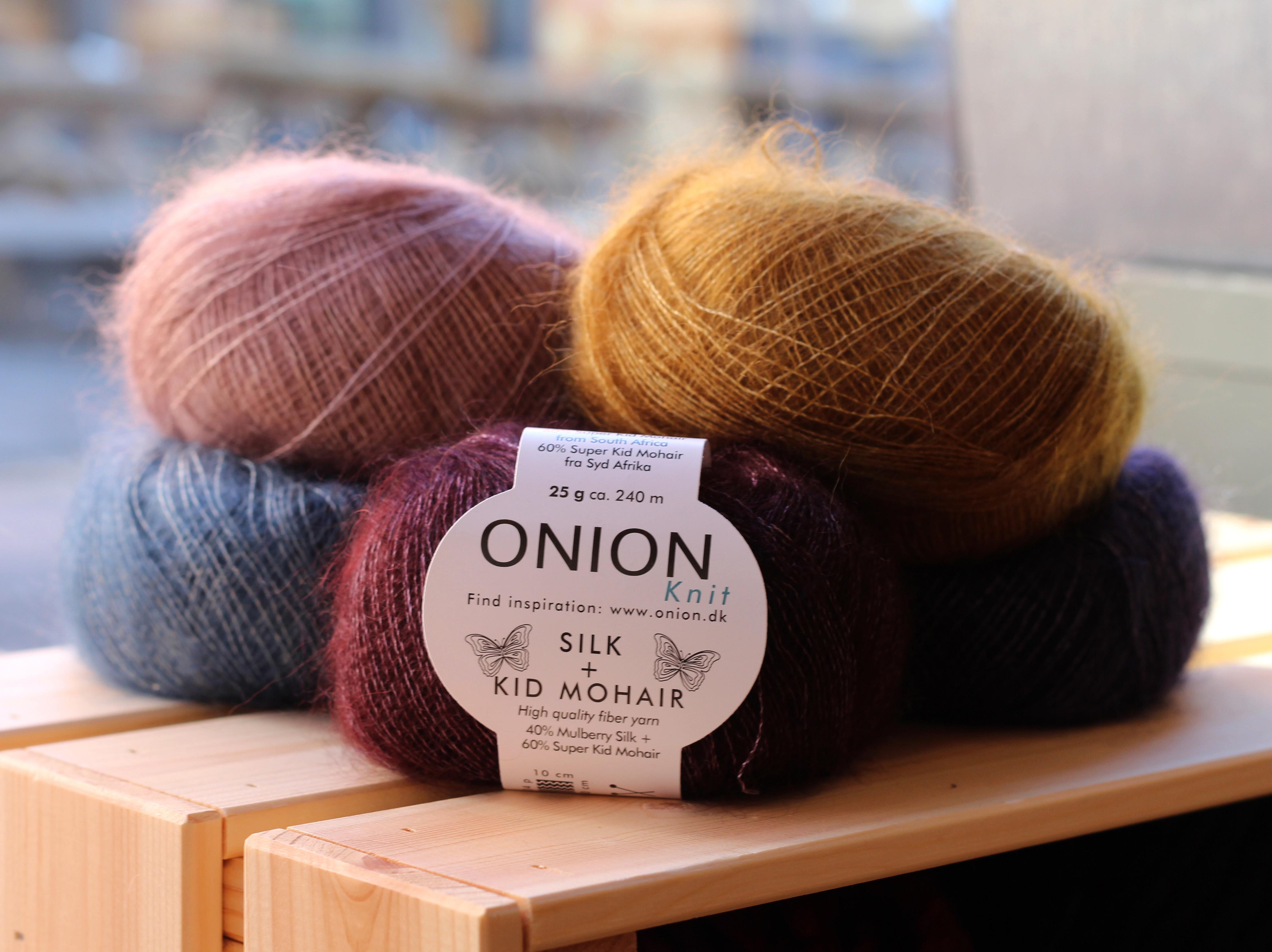 Onion Mohair Silk