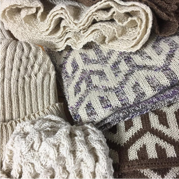 KNITTING SAMPLES