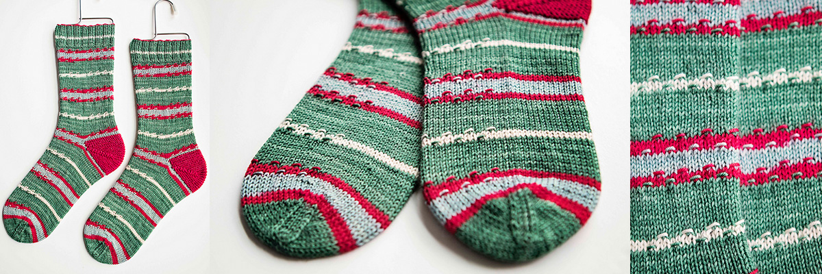 Mistletoe Kisses by Knitting Expat Designs