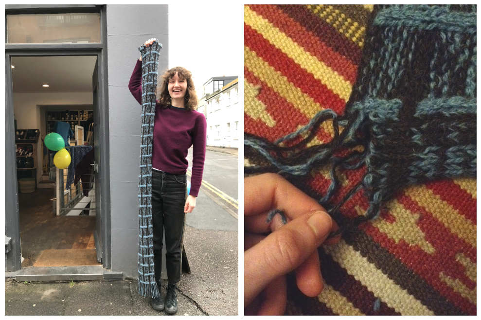 Anna Maltz, Ruperto, Marlisle, Completed Project, Jacob, West Yorkshire Spinners, Fibre Co, Lore