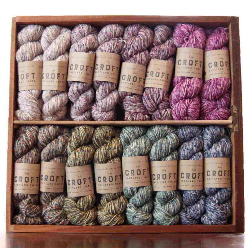 West Yorkshire Spinners, Croft Shetland Tweed, Aran, Worsted