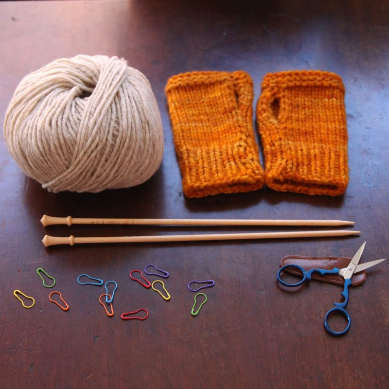 Learn To Knit, Workshop
