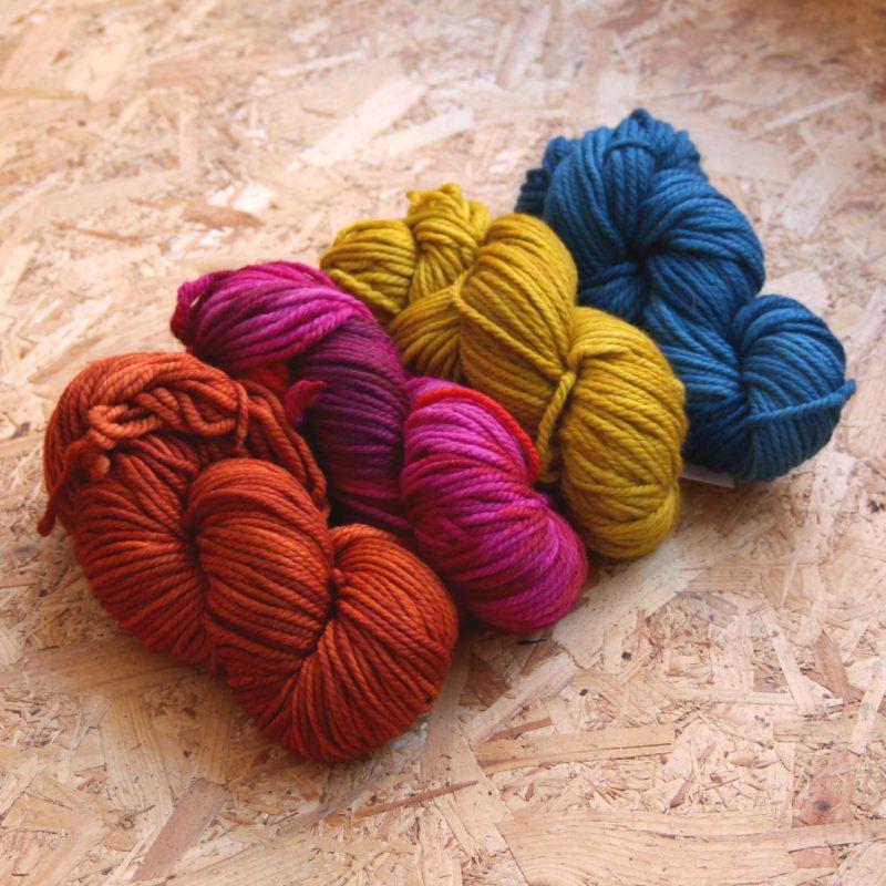Malabrigo, Chunky, Merino, Uruguay, Hand-dyed