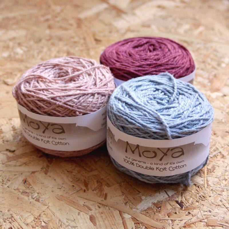 MoYa DK, Cotton. DK, Machine Washable, South African