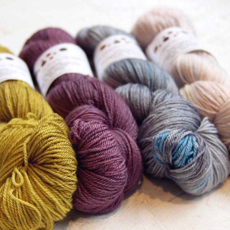Uncommon Thread, Hand dyed, Brighton, Cashmere, Silk,