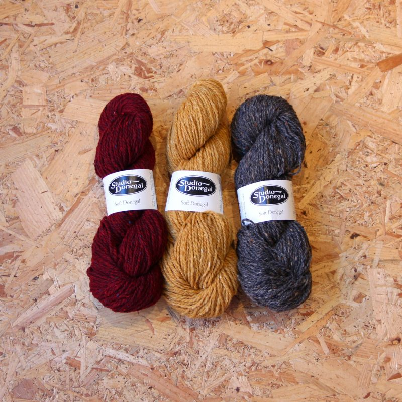 Studio Donegal, Soft Donegal, Merino, Tweed, Worsted, Ireland