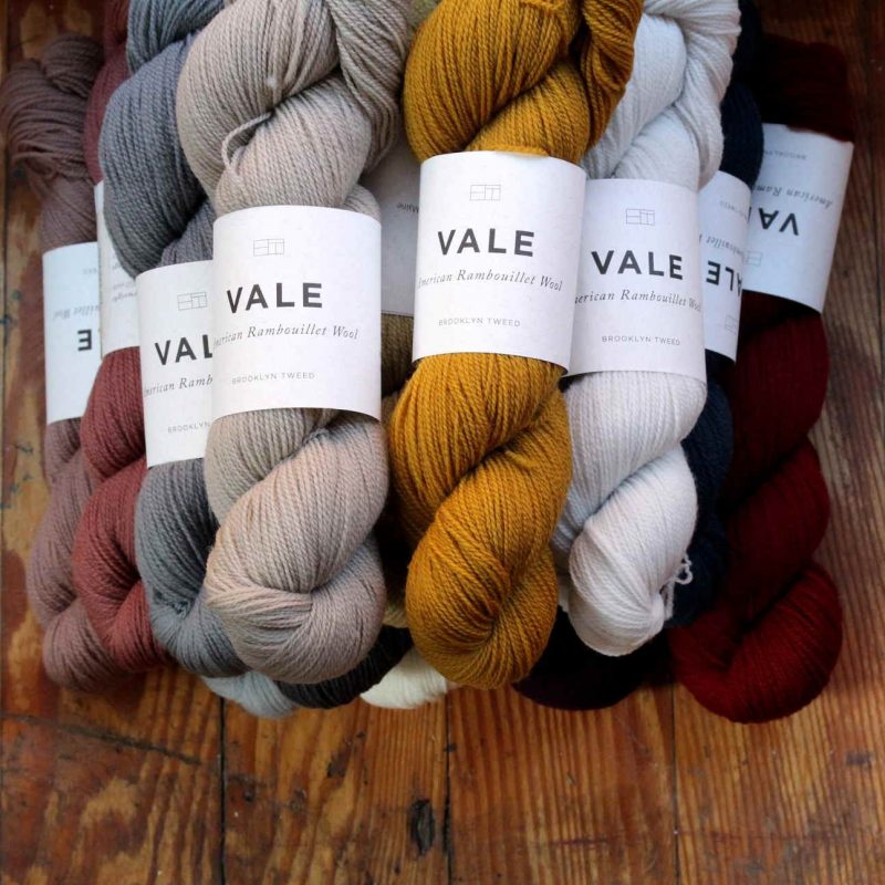 Brooklyn Tweed, Vale, Lace,