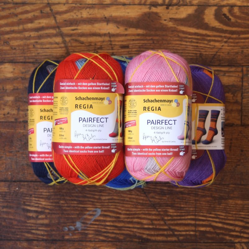Regia, Pairfect Socks, 4ply, Superwash