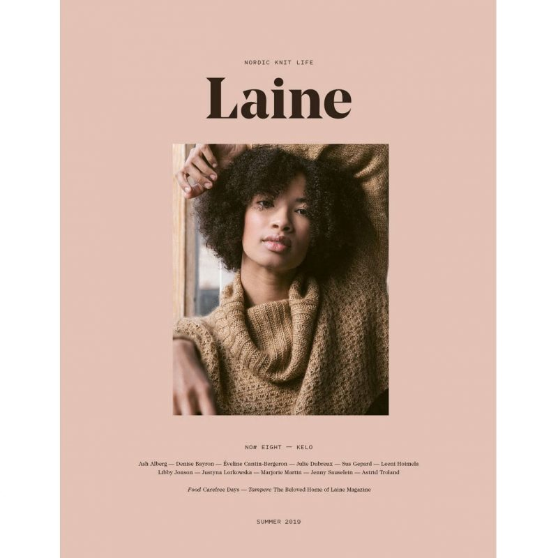 Laine Issue 8, Knitting Magazine.