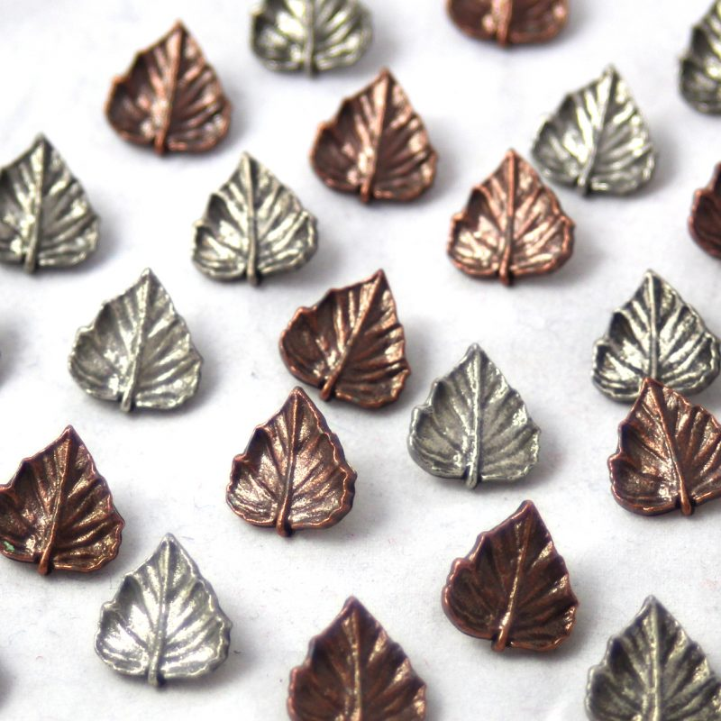 Single Leaf Buttons