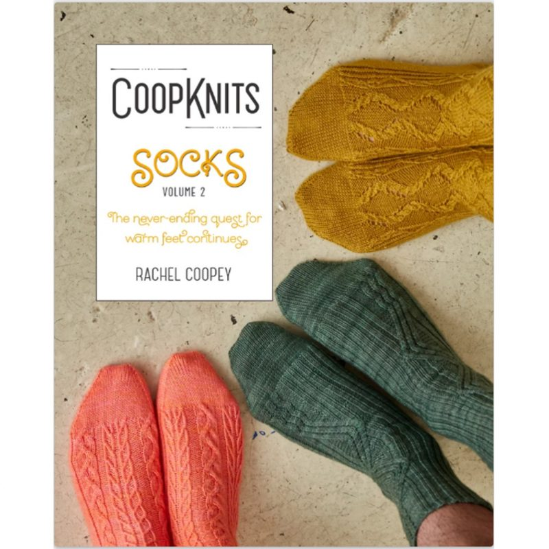 Coopknits Socks Volume 2, Rachel Coopey