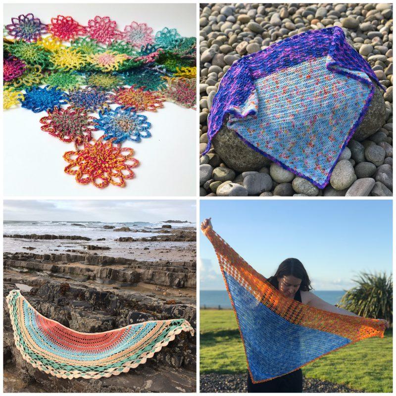 Crochet Classes, Coastal Crochet, Shawl Along, Intermediate, Improver