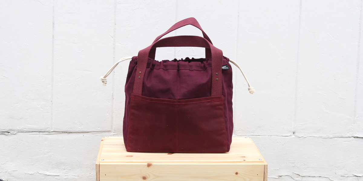 Fringe Supply, Fig, Town Bag