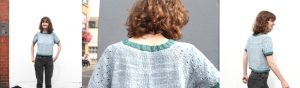 Completed Project, Elodie, Party Top, Abbye Knits