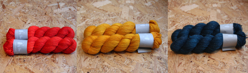 Qing, Glitter Sock Yarn, 4ply, Christmas Knitting, Handdyed