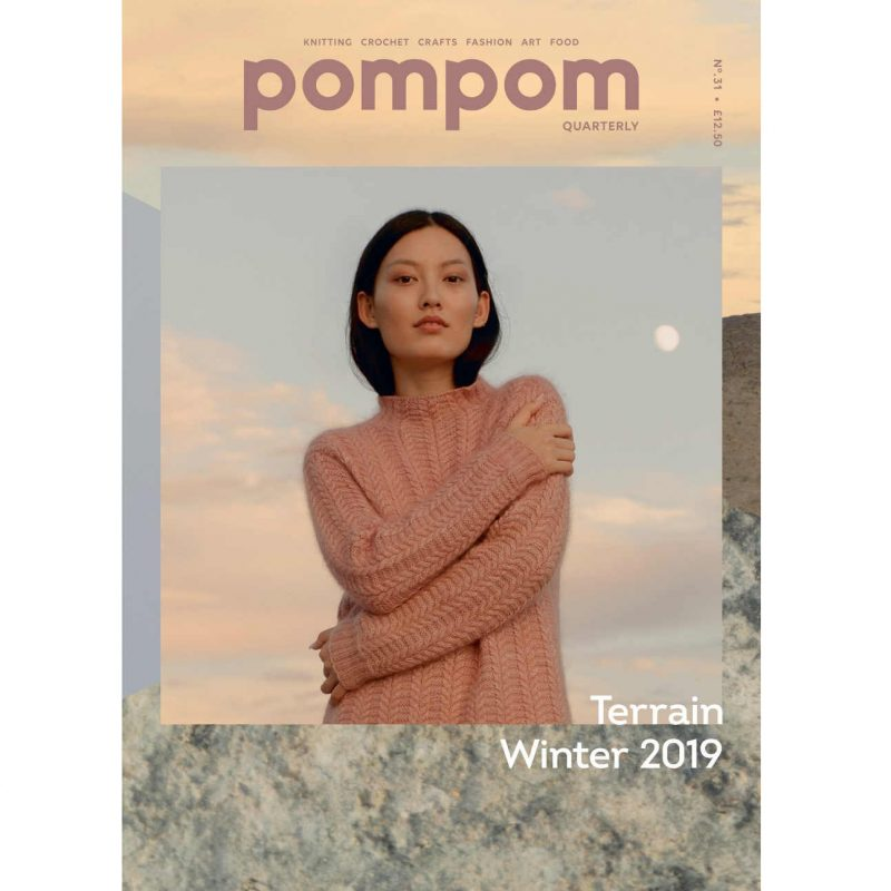 Pom Pom Quarterly, Terrain, Winter 2019