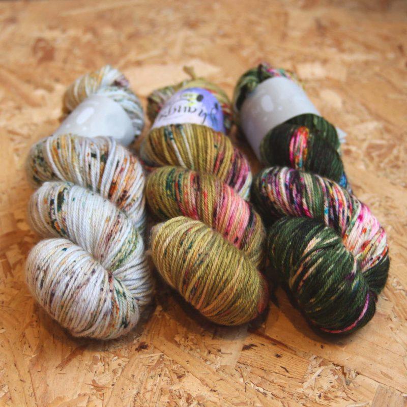 Qing, Merino Dk, Hand Dyed, Superwash