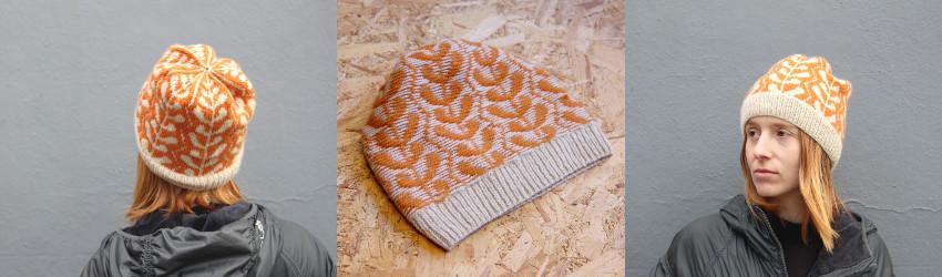 Marie Amelie Designs, Algae, 4ply, beanie, fair-isle, stranded knitting