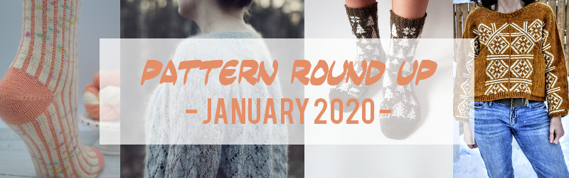 Pattern Round Up, January 2020, Veera Valimaki, Renee Rockwood, Sangmi Lee, Jennifer Beale