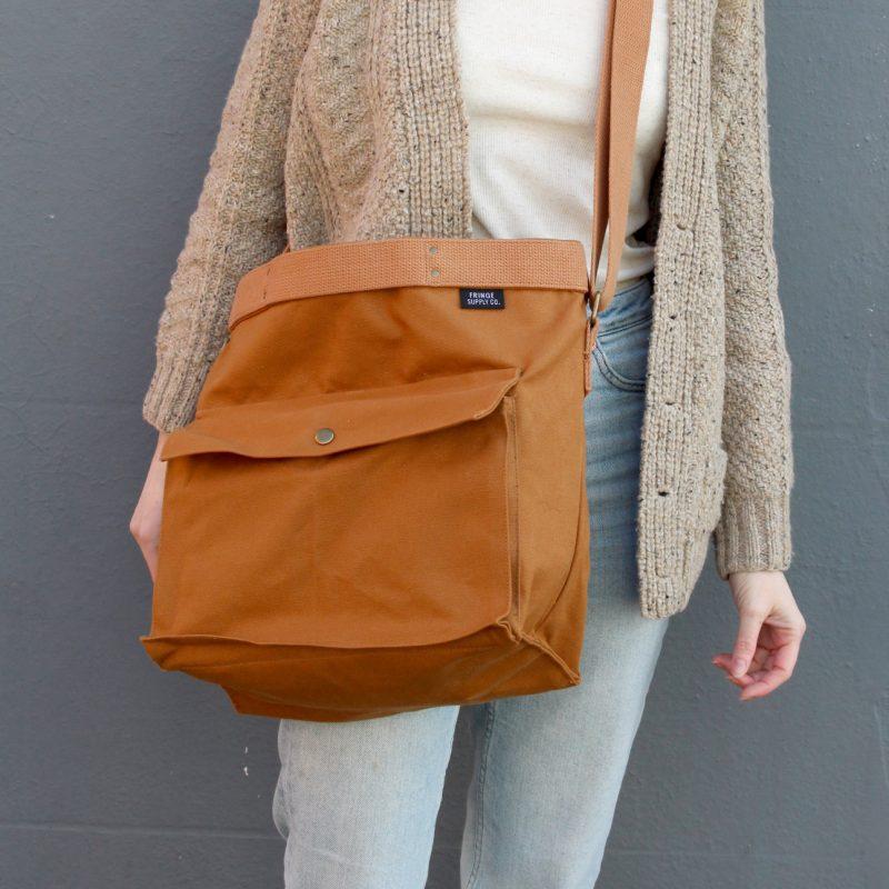 Rambler Satchel, Fringe Supply Co, Fringe Supply, Project Bag, Accessories