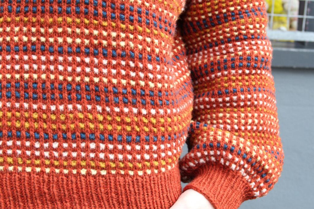 Colour close up