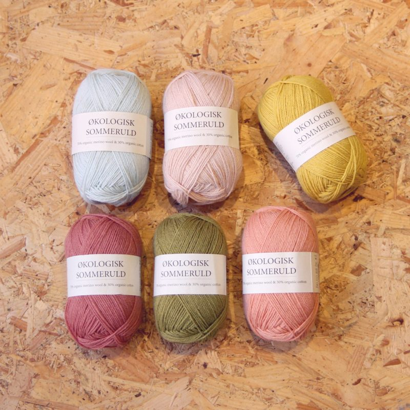 CamaRose. Summer Wool, Organic, Organic Cotton, Organic Merino, 4ply