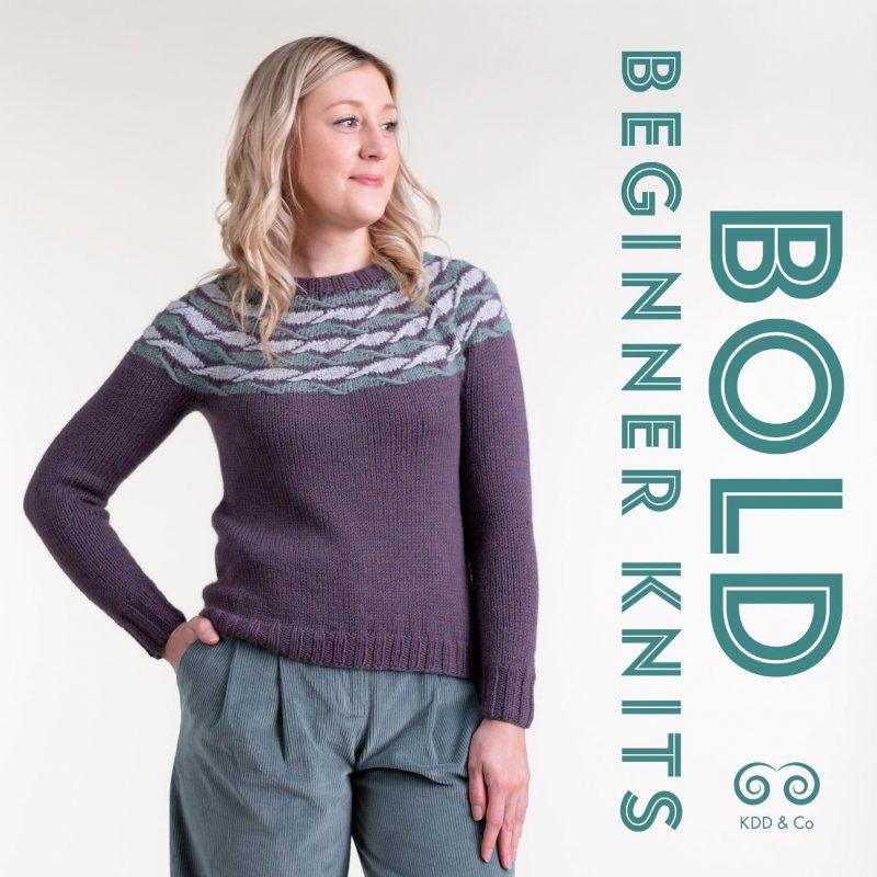 Bold Beginner Knits