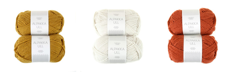Sandnes Garn, Alpakka Ull, Worsted, Alpaca, Wool, Norway, Aran