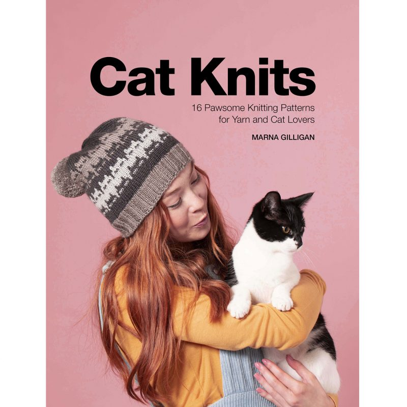 Cat Knits, Marna Gilligan, Knitting Book, Knitting Pattern