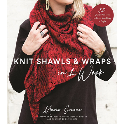 Marye Greene, Knitting Book, Book, Shawls