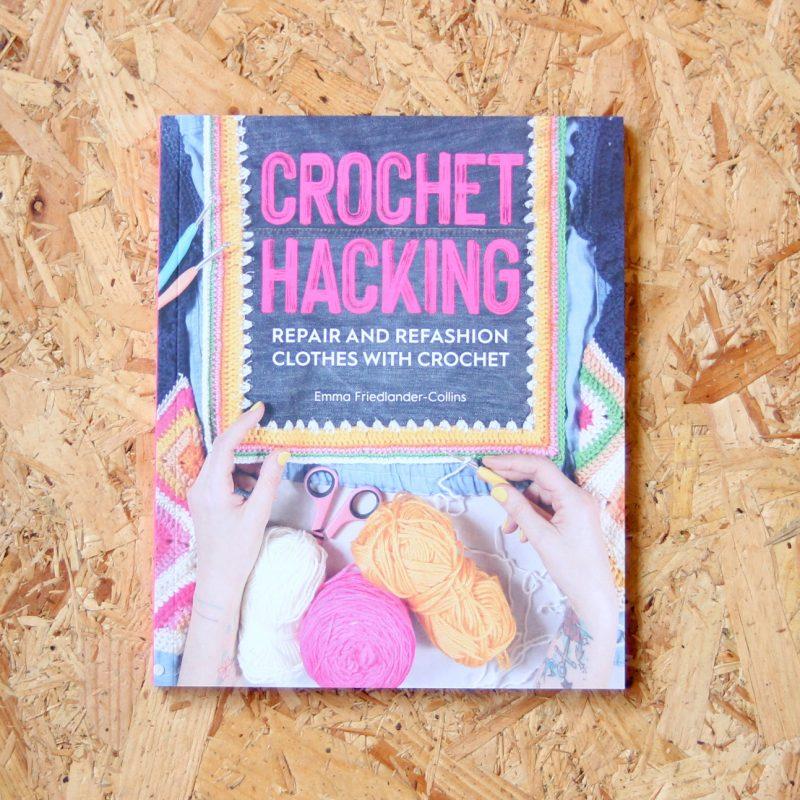 Crochet Hacking, Book, crochet Book,Emma Friedlander-Collins