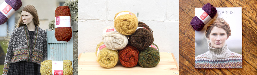 Yak Shetland Email Series, Marie Wallin, Stranded knitting, Jamieson & Smith, Fair Isle, colourwork,