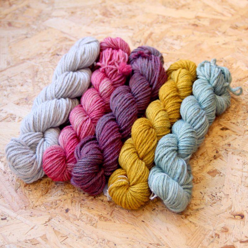 Fyberspates, Tarma Aran, Highland Wool, Alpaca, Aran, Hand dyed