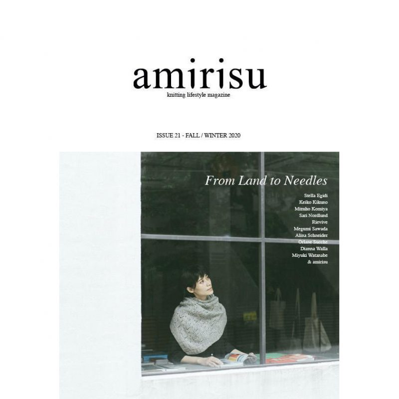 Amirisu 21, Fall Winter 2020, Knitting Magazine, Japan